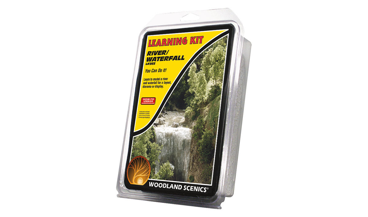 LK955 Woodland Scenics River / Waterfall Learning Kit