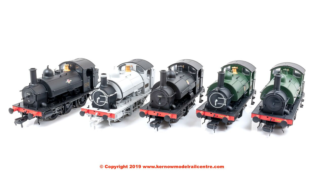 Kernow Model Rail Centre GWR 1361 Saddle Tank Image