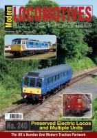 Magazine - Modern Locomotives Illustrated 240 - Preserved Electric Locos and Multiple Units