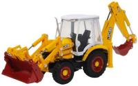 763CX003 Oxford Diecast JCB Eco Backhoe Loader 70th Anniversary