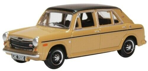 76AUS006 Oxford Diecast Austin 1300 Harvest Gold