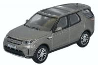 76DIS5001 Oxford Diecast Land Rover Discovery 5 New Silver