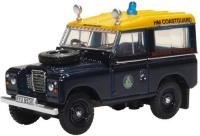 76LR3S007 Oxford Diecast Land Rover Series III SWB Station Wagon HM Coastguard