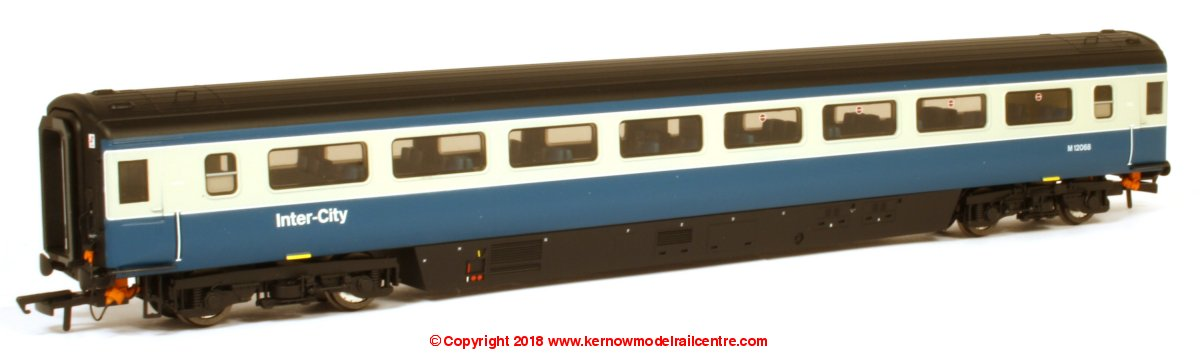 763TO001 Oxford Rail Mk3a Open Standard Coach number M12056 in BR Blue and Grey livery