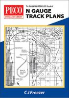 PB-4 Railway Modeller Book of N Gauge Track Plans