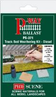 PS-371 Peco Track Bed Weathering Kit - Diesel
