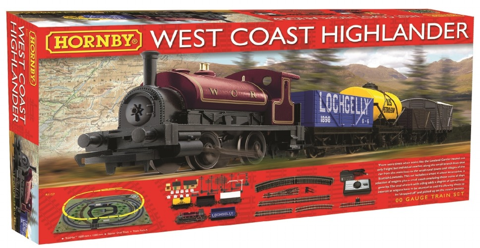 R1157 Hornby West Coast Highland Train Set Image