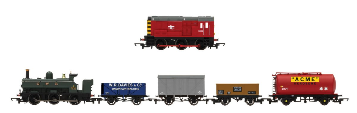 R1236 Hornby Mixed Freight Train Set