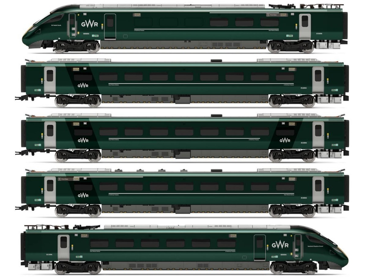 R3514 Hornby GWR Class 800 Unit Image