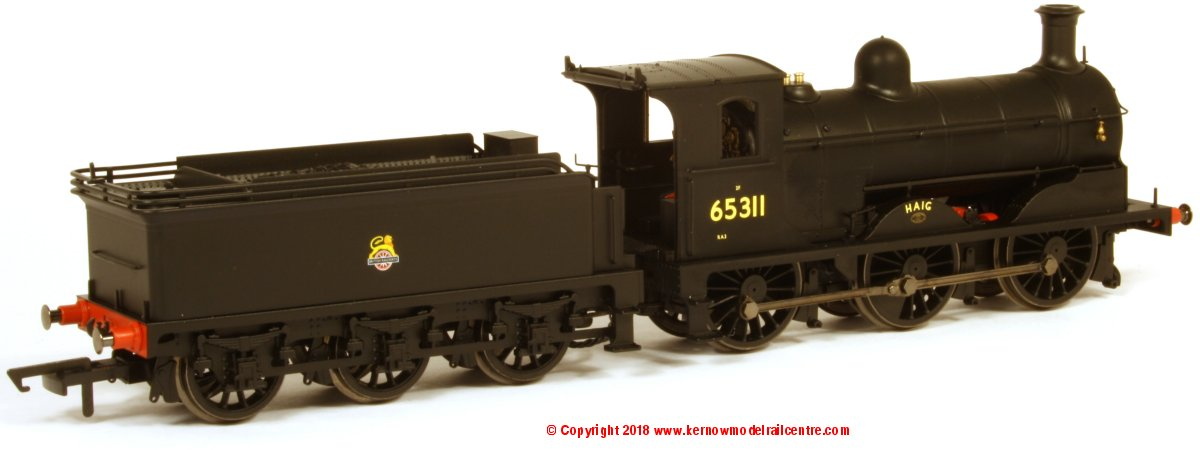 R3622 Hornby J36 Class Steam Locomotive number 65311 named 'Haig' in BR Black livery with early emblem