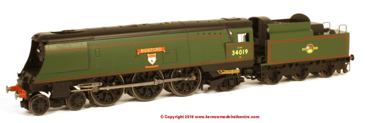 R3638 Hornby West Country Bideford Steam Locomotive Image