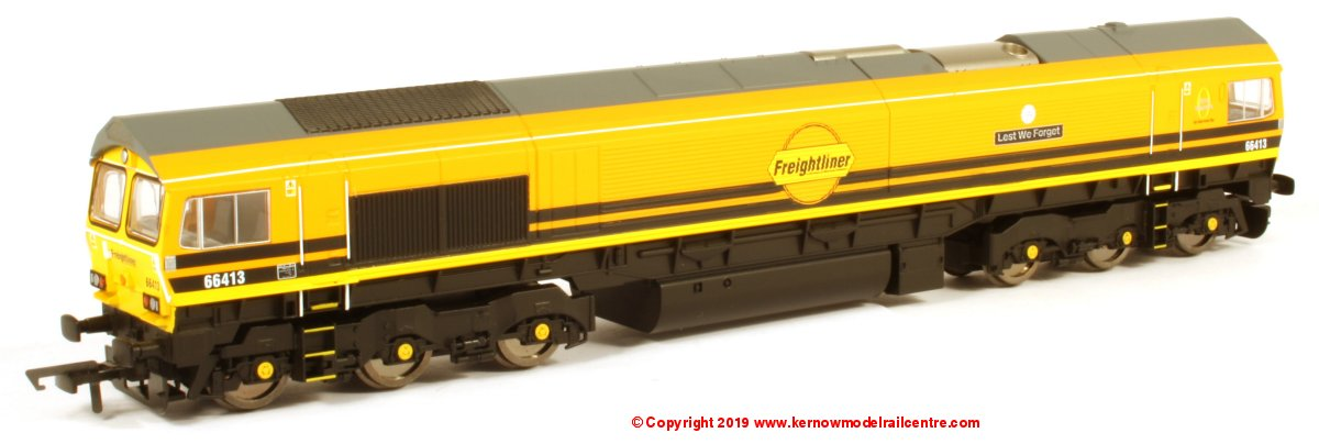 R3786 Hornby Class 66 Freightliner Image