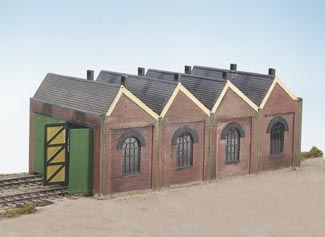 CK12 Wills Two Road Engine Shed