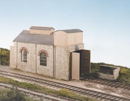 CK14 Wills Single Road Engine Shed