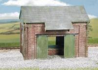 CK19 Wills Craftsman Kit Goods Shed