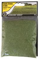 FS618 Woodland Scenics 4mm Static Grass Medium Green