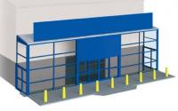 SSM310 Wills Supermarket Frontage Kit