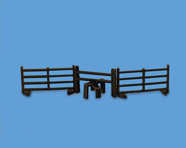 5024 Model Scene Style with Two Fences