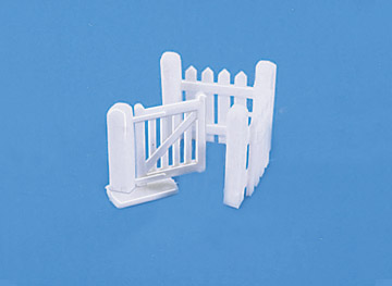 5023 Model Scene Kissing Gates (Pack of 2 gates and matching fence)