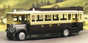 5137 Model Scene 1927 Maudslay ML3 Bus kit. Requires paint and adhesive to complete