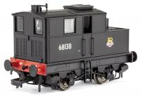 KMR-014 Dapol Y1 Sentinel Steam Locomotive number 68138 in BR Black livery with early emblem