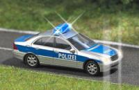 5615 Busch Mb C Class Police With Lights
