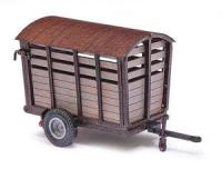 59930 Busch Wooden animal trailer