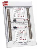 6020 Busch HO Dummy Level Crossing Set