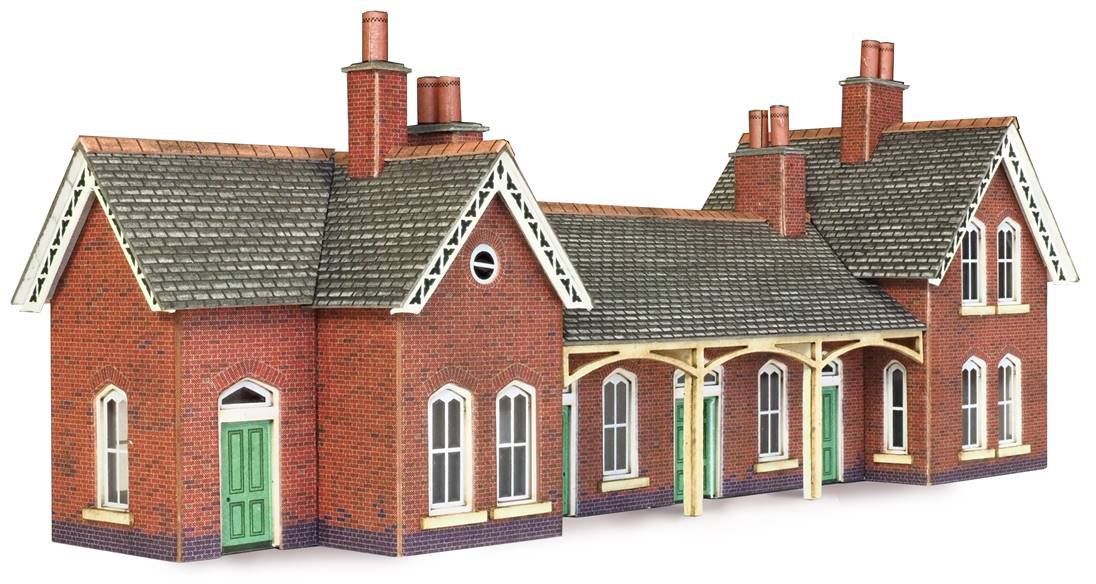 Pn137 Metcalfe Country Station Building Kit