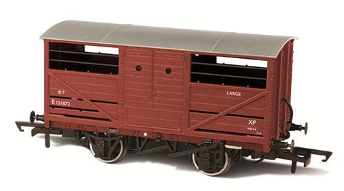 76CAT001B Oxford Rail Cattle Wagon Image