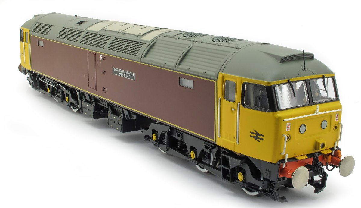 "31-651Z Bachmann Class 47 Diesel Locomotive number 47 973 named ""Midland Counties Railway 150 1839 - 1989"" in Midland Counties Maroon livery"
