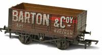 76MW7020W Oxford Rail 7 Plank Mineral Wagon - Barton and Co No.321 Weathered