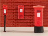 5044 Model Scene Post Boxes (6 assorted)