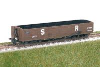 GR-231U Peco L&B 8 ton Bogie Open Wagon in brown livery- unlettered