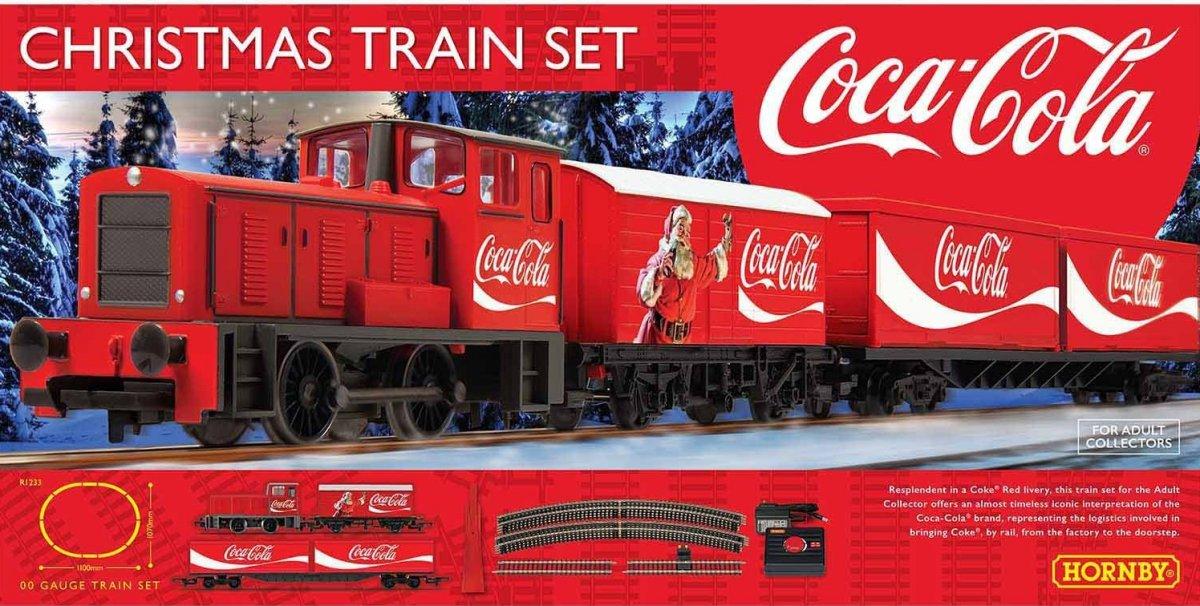 R1233 Hornby Coca-Cola Christmas Train Set