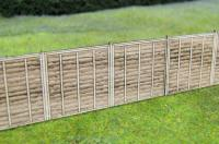 GM451 Gaugemaster Wooden Fencing Laser Cut Kit