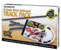 44896 Bachmann Nickel Silver Worlds Greatest Hobby Track Pack