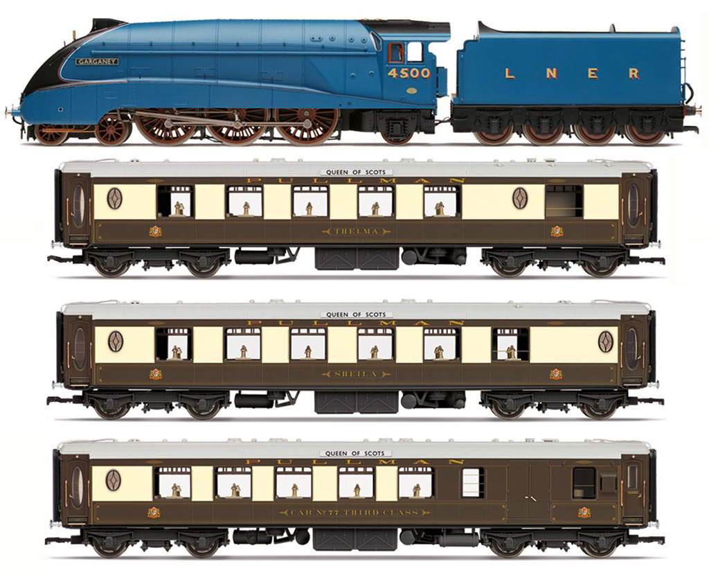 R3402 Hornby LNER Queen of Scots Train Pack Image
