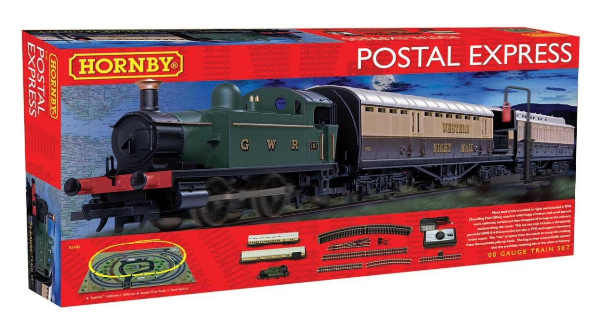 R1180 Hornby Postal Express Train Set Image
