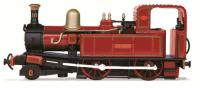 "76IOM001 Oxford Rail Static Model number 10 named ""G H Wood"" in Indian Red 1945 - 1967 livery"