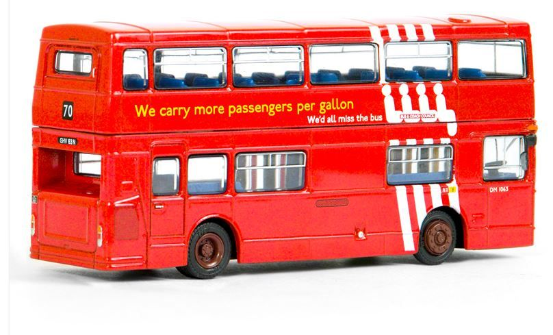 25711 Exclusive First Editions Daimler DMS Double Decker Bus in London Transport livery