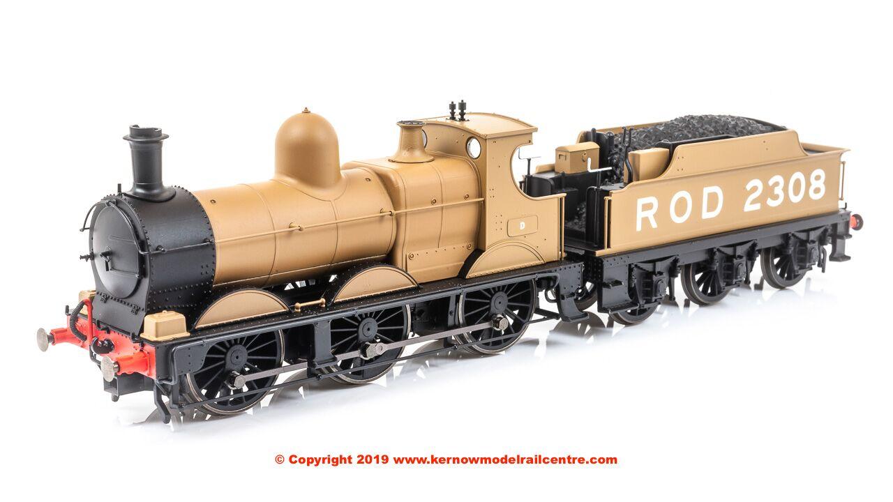 OR76DG003 Oxford Rail ROD Dean Goods Steam Loco image