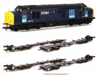 K9987 Bachmann Class 37 and Dapol IDA Wagon Bargain Pack