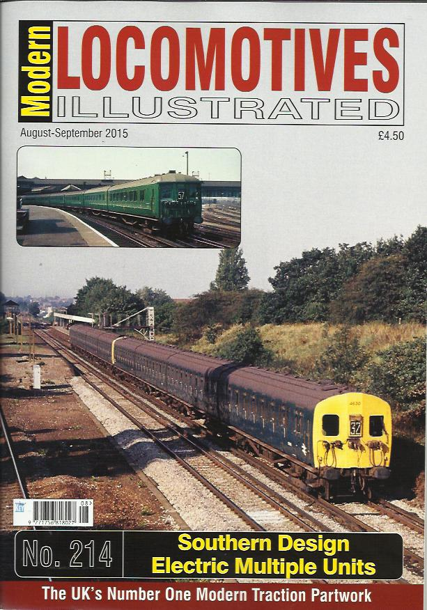 Magazine - Modern Locomotives Illustrated 214 - The Southern Design Electric Multiple Units