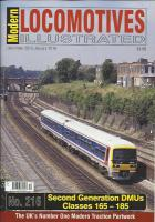 Magazine - Modern Locomotives Illustrated 216 - 2nd Generation DMUs Classes 165-185