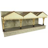 PO341 Metcalfe Wall Backed Platform Canopy Kit.