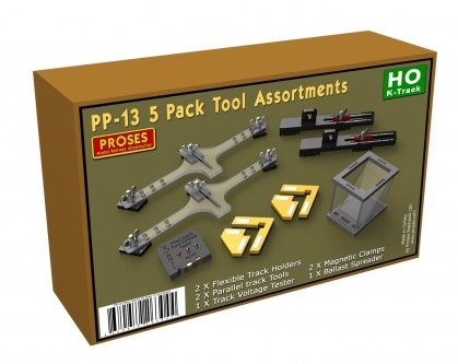 PP-13 Proses 5 Pack Tool Assortments for Marklin 3-Rail
