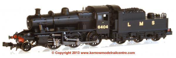 372-627 Graham Farish Ivatt Class 2MT Steam Image