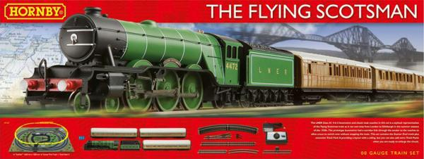 R1167 Hornby Flying Scotsman Train Set Image