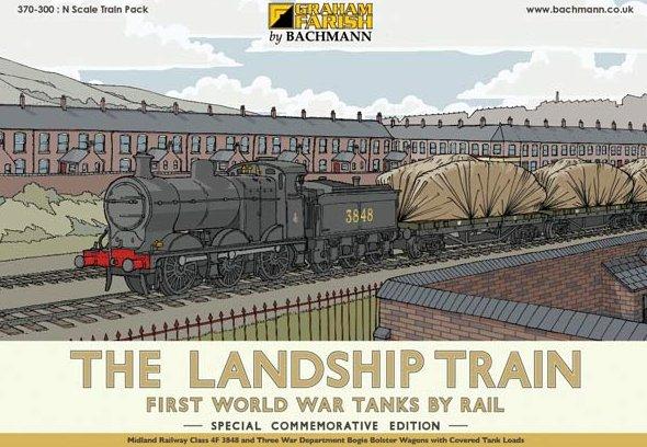 370-300 Graham Farish Landship Train Pack Image